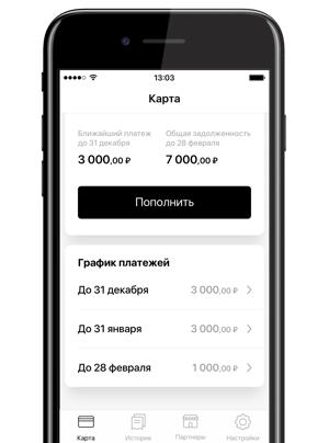 Мобильное приложение с графиком
